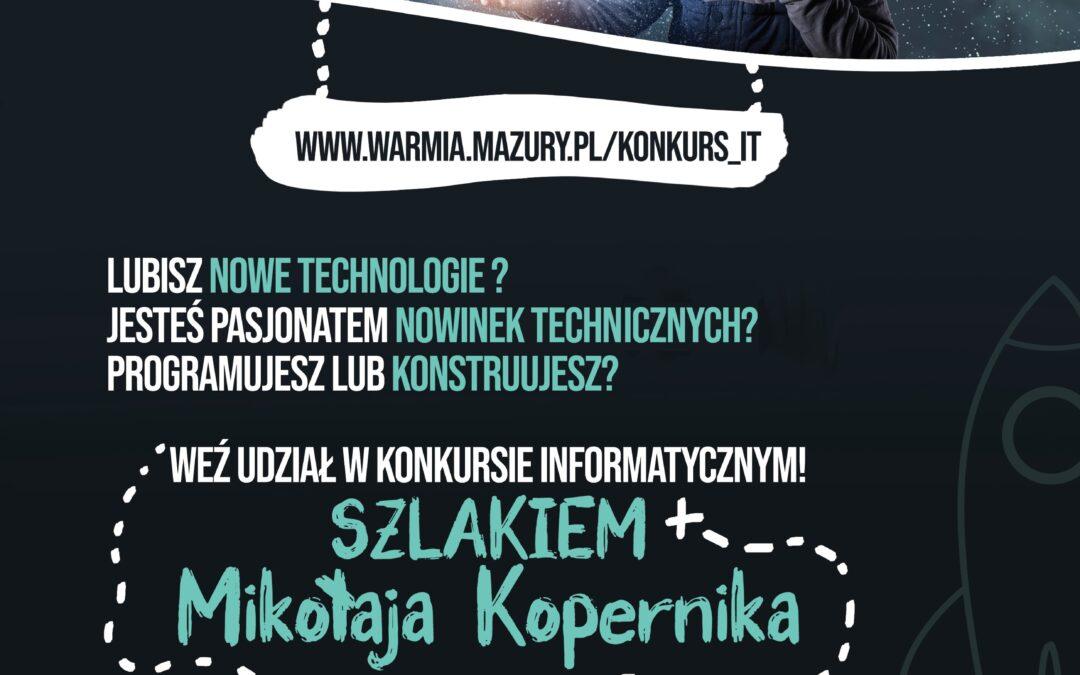 """""""Szlakiem Mikołaja Kopernika"""". Ruszył konkurs dla dzieci i młodzieży z Warmii i Mazur"""